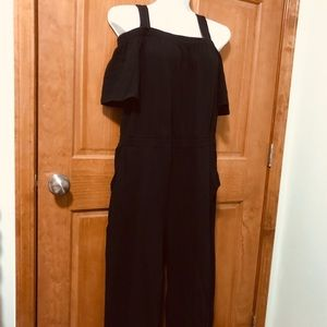 New 3-way jumpsuit black Meium 14/16 Woman Within